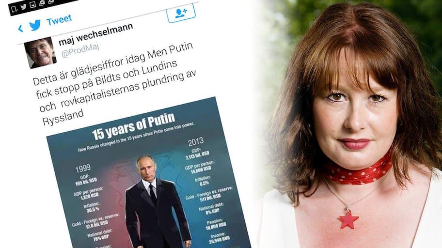 Karin Olsson granskar Aftonbladet-underlaget till Rysslandsstudien