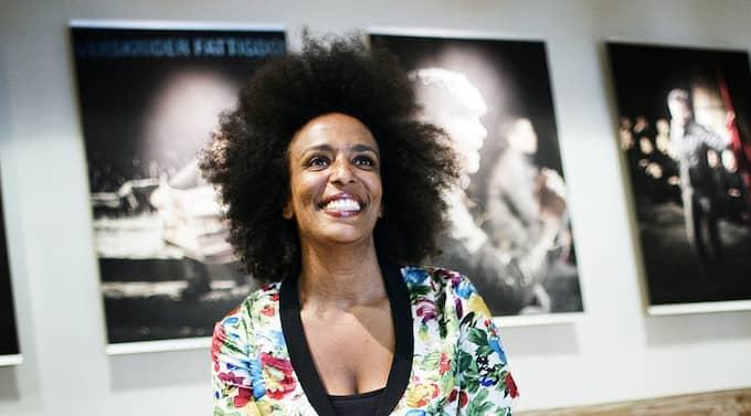 """Marika Carlsson är tillbaka i hemstaden med föreställningen """"En negers uppväxt"""". Göteborgspremiär i kväll på Hagateatern. Foto: Anders Ylander"""