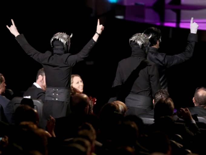 Svenska bandet vann. Foto: Matt Sayles