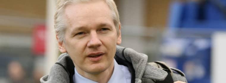 Julian Assange. Foto: Oli Scarff