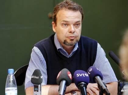 """NEKAR TILL BROTT. I Dagens Nyheter talar Sven Otto Littorin ut om sexköpsanklagelserna. """"Jag avvisar bestämt uppgifterna som Aftonbladet har publicerat"""", säger han. Foto: Cornelia Nordström"""