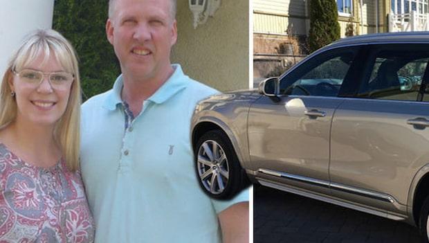 Familjen stoppade biltjuven med hjälp av GPS