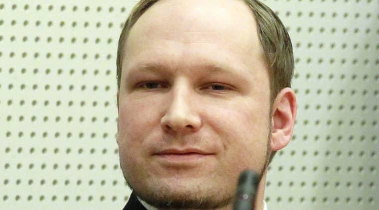 Anders Behring Breivik. Foto: Scanpix, Norge Foto: Scanpix Norway