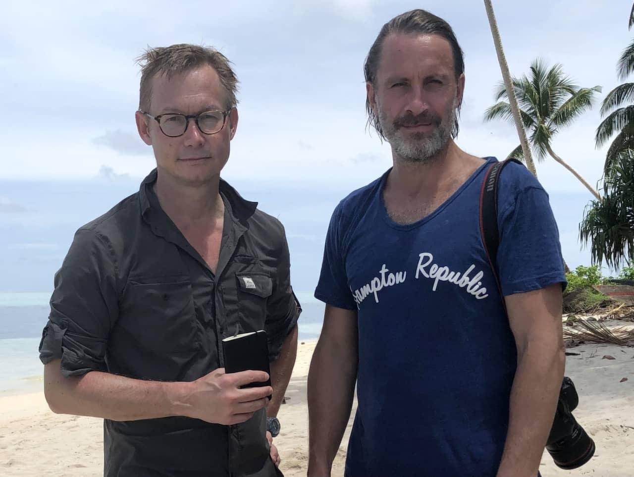 Magnus Falkehed och Niclas Hammarström