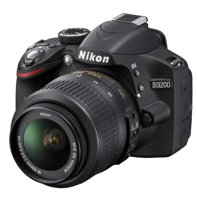 <span>Nikon D3200.</span>