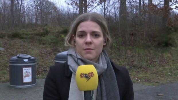 En kvinna hittades skadad vid en parkering i Mölnlycke - avled på sjukhuset