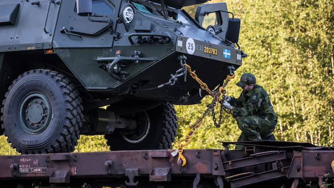 Sverige är redo! I alla fall för försvarsövningen Aurora 17, den mest omfattande på 24 år i Sverige. Foto: / FÖRSVARSMAKTEN