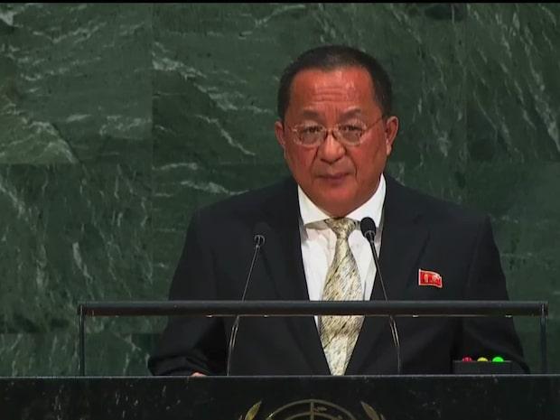 """Nordkorea: """"Trump försöker förvandla FN till ett gangsternäste"""""""