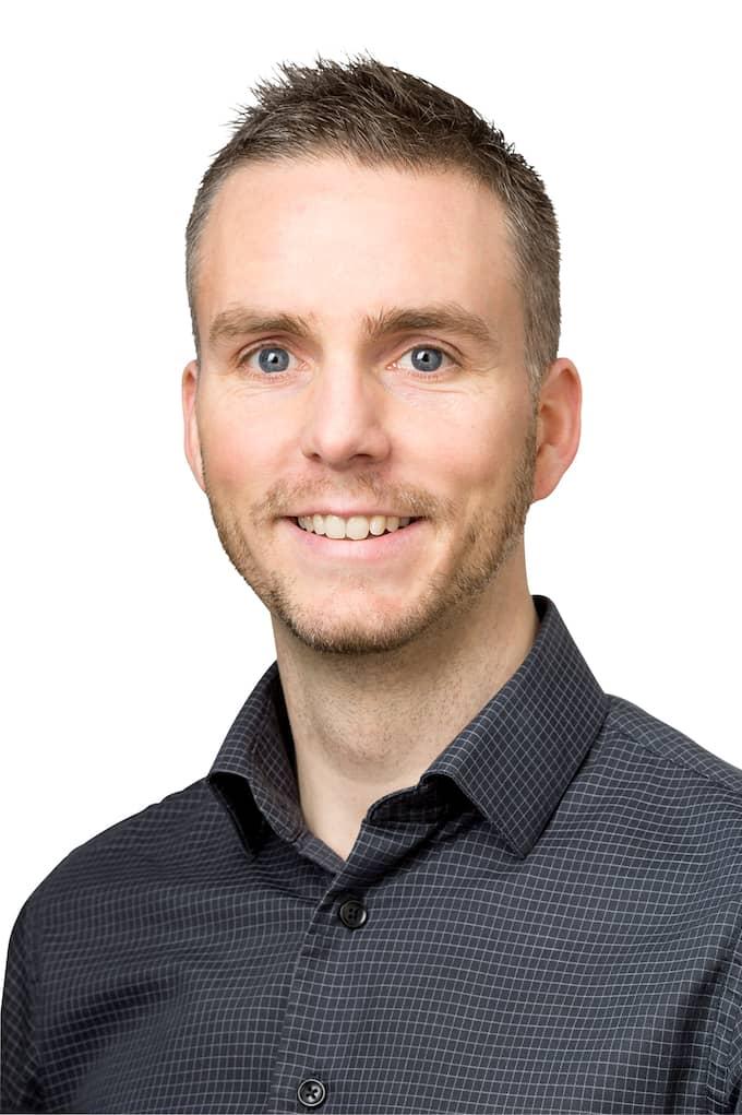 Mikael Hjörnhede förklarade krig mot Postnord. Foto: PRIVAT