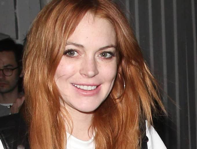 Lindsay Lohan har hittat kärleken igen - nu dejtar hon Egor Tarabasov. Foto: David Tonnessen,Pacificcoastnews