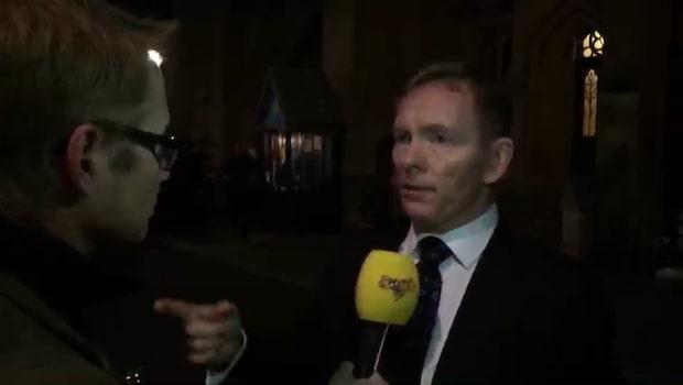 """""""Det viktigaste är att parlamentet är på plats imorgon och fortsätter göra vårt jobb"""""""
