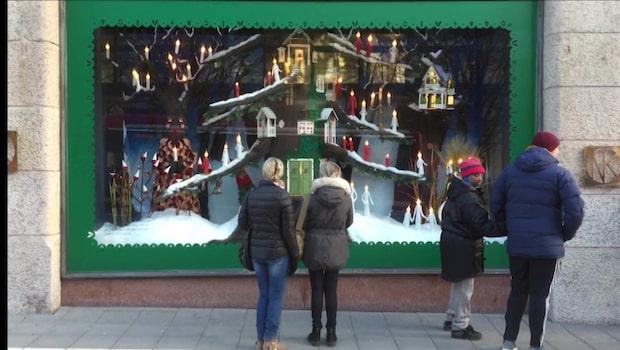 Tjuvarna i farten i julhandeln