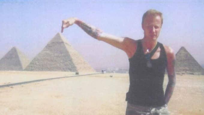 """""""Rullstolsmannen"""" Lars Wallin,m dömdes till grovt bidragsbrott och grovt bedrägeri. Foto: Polisen"""