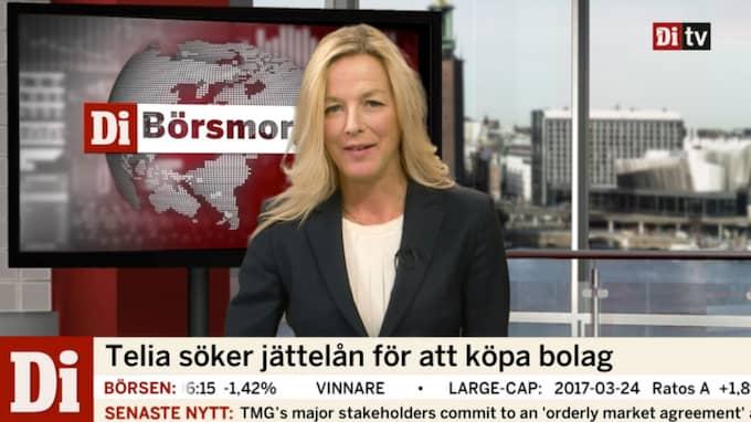 Anna Ekelund programleder dagens Börsmorgon.