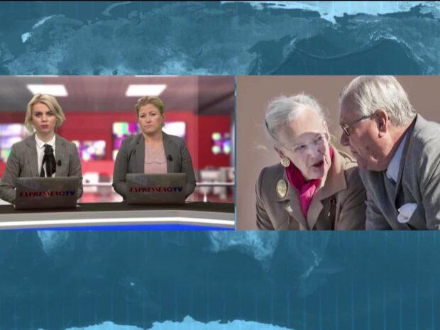 """Lennmor: """"Kanske blir så att drottning Margrethe väljer att abdikera"""""""