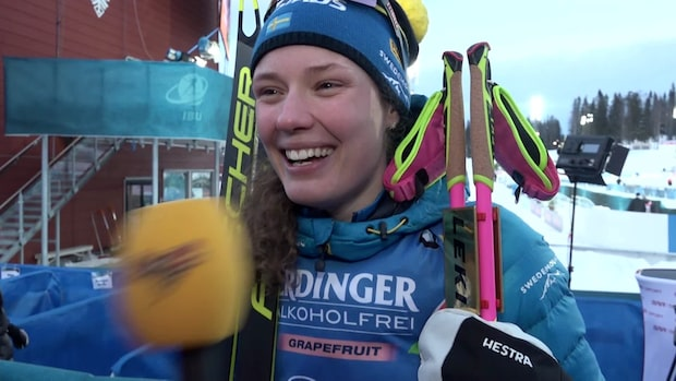 """Hanna Öberg: """"Det är mycket känslor"""""""