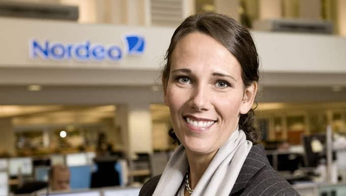 Annika Winsth, chefsekonom på Nordea, menar att utvecklingen är positiv för svensk del. Foto: NORDEA Pressbild