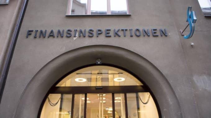 Det är finansinspektionen som beslutat om kraven. Foto: Fredrik Sandberg / Tt / TT NYHETSBYRÅN