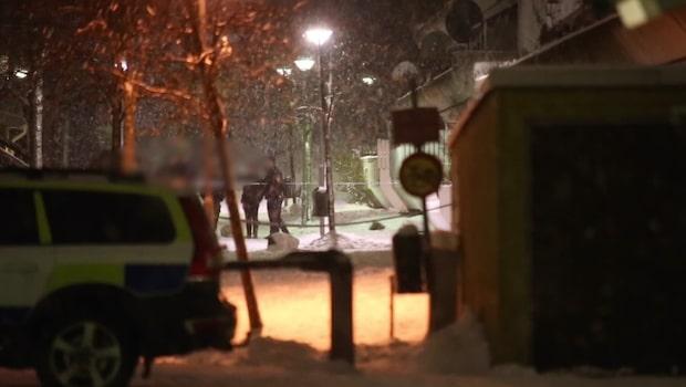 Tonårspojkar sköts i bostadsområde