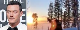 Fast & Furious-stjärnan i Arjeplog – kör bil på is
