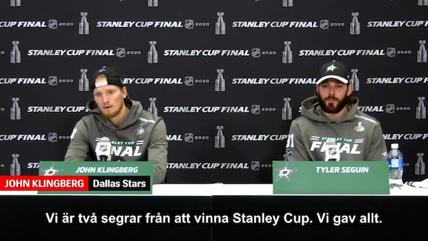 """Klingberg efter förlusten: """"Är stolt över laget"""""""