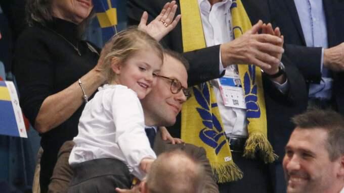 Prins Daniel är ambassadör för handbolls-EM. Foto: Patrik C Österberg / PATRIK C ÖSTERBERG / IBL/IBL PATRIK C ÖSTERBERG /