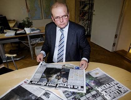 ÄNDRADE SIG. Jordbruksminister Eskil Erlandsson lovar nu att ändra lagen efter att han läst Expressens artiklar om djursex. Foto: LINDA FORSELL