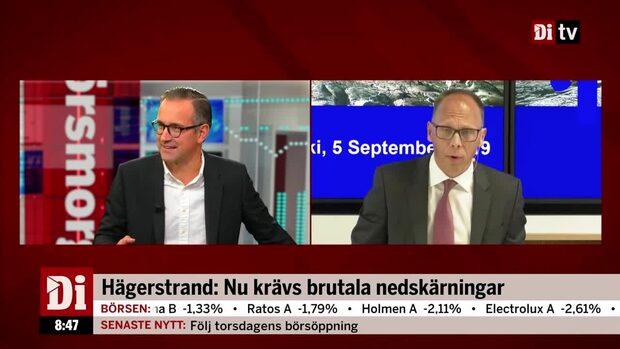 """Hägerstrand om nya vd:n: """"Han måste byta ut hela koncernledningen"""""""