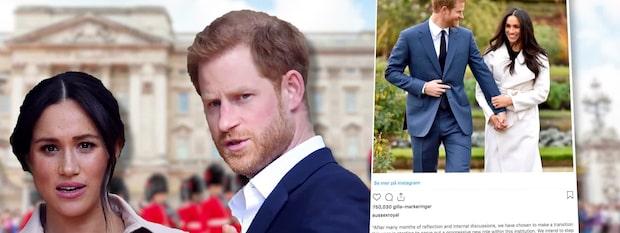 """Ilskan mot prins Harry och Meghan efter beslutet: """"Slag i ansiktet"""""""