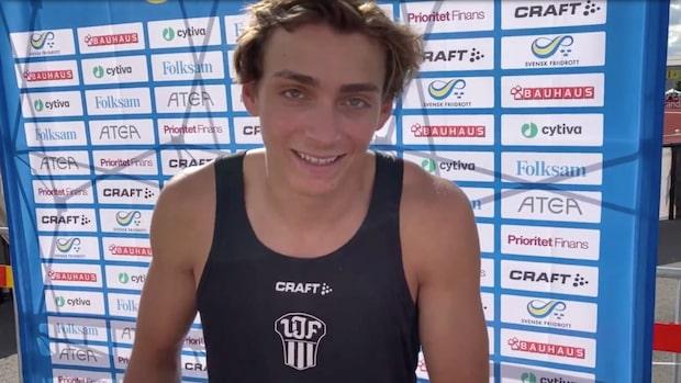 """Duplantis tog första SM-guldet: """"Speciellt"""""""