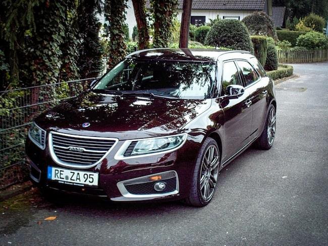 Mer än 728 000 kronor kostade den här Saaben från 2012.