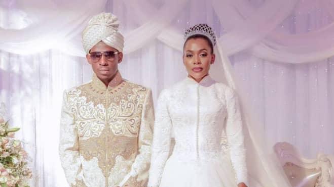 Paret gifte sig i november 2016 på ett extravagant bröllop. Foto: Facebook