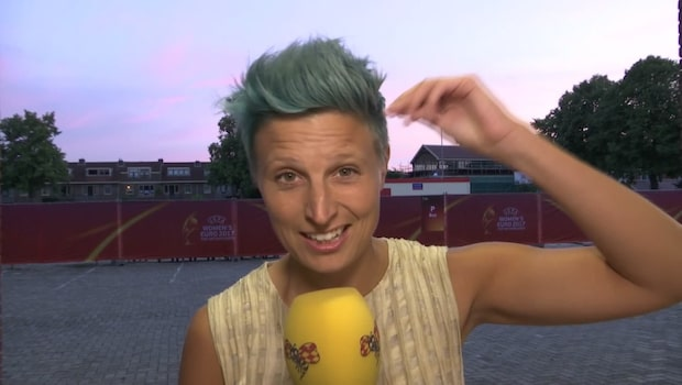 """Ek avslöjar: """"Därför har jag blått hår"""""""
