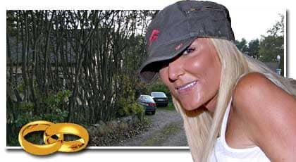 Hillevi. Buatjejen Hillevi Svensson, 34, tog hem högvinsten. På lördag gifter hon sig med den amerikanske miljardären David Saperstein. Foto: JONAS ARNESSON/Hallands Nyheter