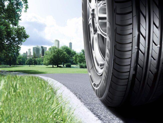 Bridgestone Ecopia har A-klassning i våtgrepp och rullmotstånd.