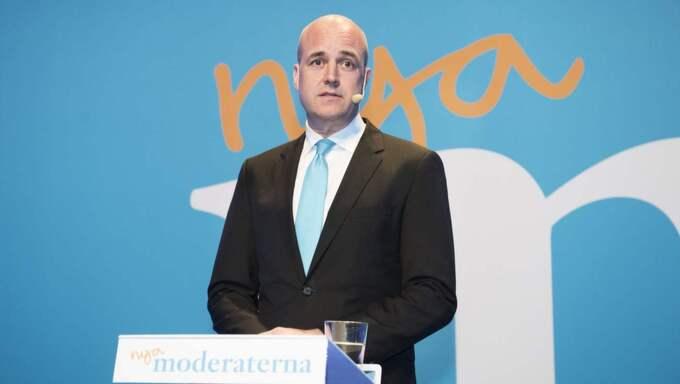 Trots att Fredrik Reinfeldt under åtta år rekordsänkt skatterna med 130 miljarder, blev flyktinginvandringen den stora valfrågan i höstas. Foto: Anna-Karin Nilsson