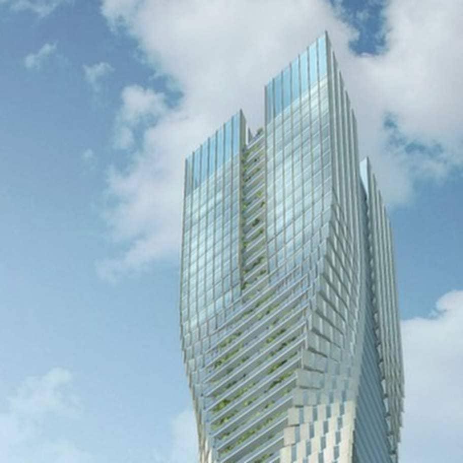 världens högsta skyskrapa