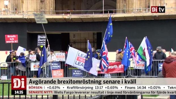 """Åkerman om Brexit: """"Definitivt nederlag för premiärministern"""""""