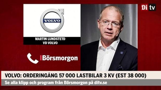 """Volvos vd: """"Fortsatt återhämtning ligger i korten"""""""