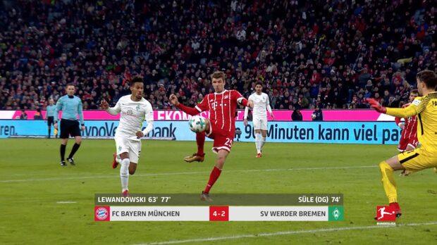 Müller tvåmålsskytt – med sitt 100:e mål i Bundesliga