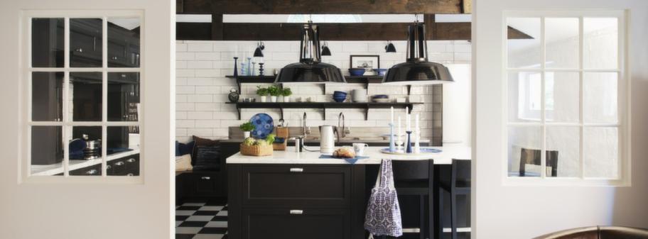Härlig mix av modernt och lantligt i nytt kök Leva& bo Expressen Leva& bo