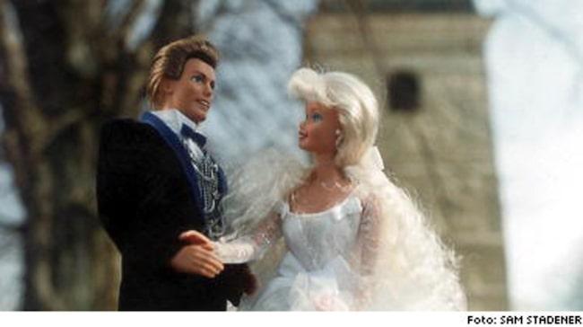 Skilda barbie ken