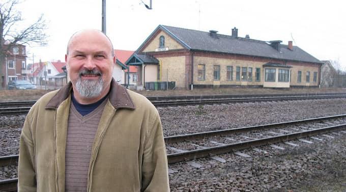 Göran Svärd är en lycklig man. Foto: Kenneth Larsson