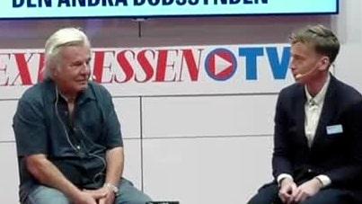 Jan Guillou gästar Expressens scen på Bokmässan