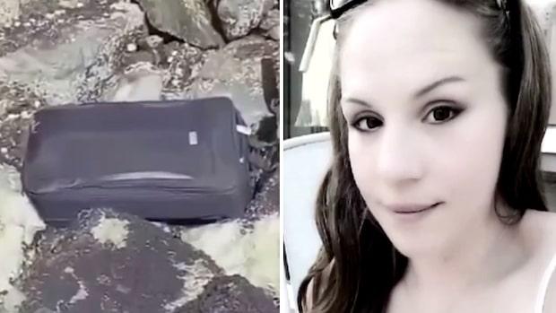 Tonåringarnas makabra upptäckt i resväska