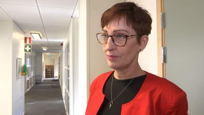 Susanne Meijer (S) är kommunalråd i Hörby – hon har reagerat starkt efter uttalandena från vd:n. Foto: CAROLINE LARSSON