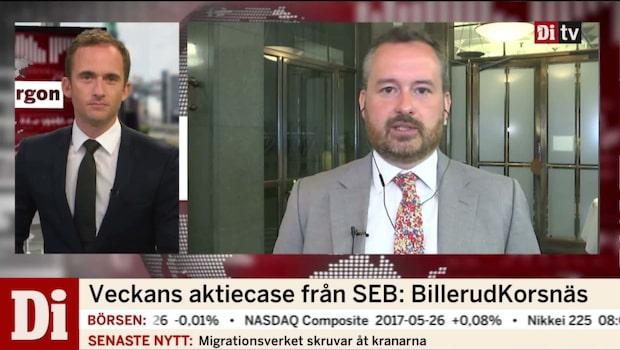 Veckans aktiecase från SEB: BillerudKorsnäs