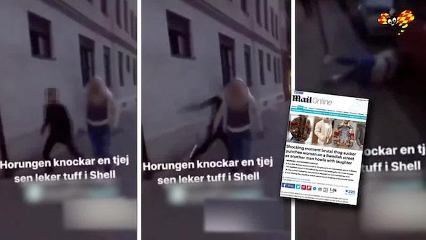 Filmad våldsattack i Malmö sprids – polis vädjar om tips