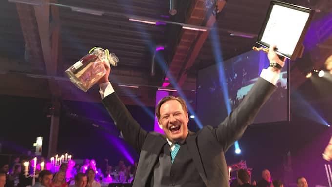 """Jens B Nordström belönades 2015 med en Guldspade för boken """"Saabs sista strid"""""""