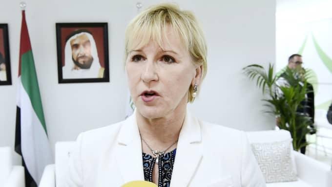 Sverige erkänner inte Västsahara, meddelade UD och hänvisade till att de folkrättsliga förutsättningarna inte är uppfyllda. Foto: Sven Lindwall
